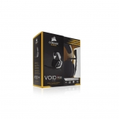 Headset Gamer Usb Void Rgb Dolby 7.1 Preto/branco Corsair
