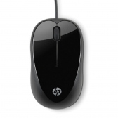 Mouse Optico Usb Mini X1000 Preto Hp