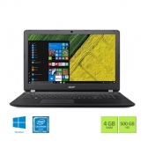 Notebook Acer Es1-533-C8Gl Intel Celeron N3350 4Gb 500Gb 15,6 Windows 10 Home Preto
