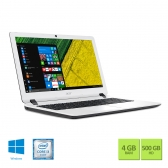 Notebook Acer Es1-572-347R Intel Core I3 6006U 4Gb 500Gb 15,6 Windows 10 Home Branco E Preto
