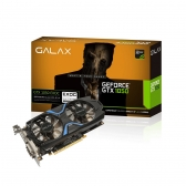 Placa de Video Galax Geforce Gtx 1050 Exoc 2Gb Ddr5 128 Bits Dvi/hdmi/dp - 50Nph8Dvn6Ec